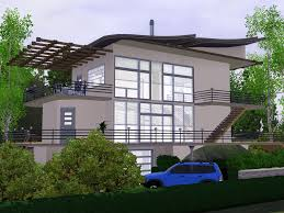 modern box house sims 3 modern box house by ramborocky on deviantart