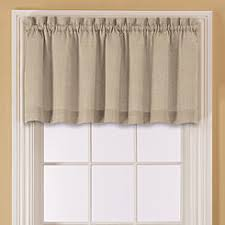 Solid Color Valances For Windows Valances Window Scarves Sears
