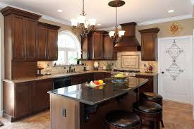 Kitchen Island With Corbels Kitchen Agreeable L Shape Kitchen Decoration Using Light Yellow