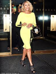 Hit The Floor Rick Fox - vivica fox turns heads in curve hugging neon dress in nyc daily