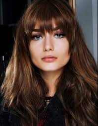 haircut for long hair with fringe hairstyles and haircuts