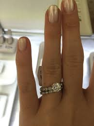 the best wedding band poll which wedding band looks the best with my scalloped