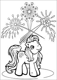 my little pony coloring book pages coloring page for kids kids