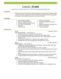 Cook Job Description Resume by Fast Food Cook Resume Fast Food Cook Resume Sample Resume Sample