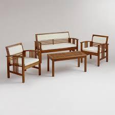 Wood Patio Chairs Wood Patio Furniture World Market Ideas Gyleshomes Com