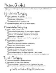 thanksgiving day checklist from the six o clock scramble cooking