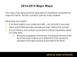 major maps asu arizona state welcome to the bamm refresher