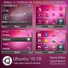 udjo42 themes for nokia c3 ubuntu 10 10 theme for nokia c3 x2 01 themereflex