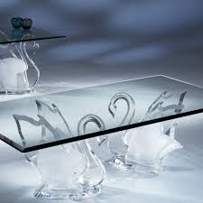 End Table Ls Legend Swan Clear Acrylic Coffee Table Shahrooz