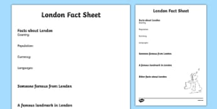 london worksheet primary resources city england page 1