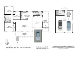 ocean shores floor plan 19 aloota crescent ocean shores chincogan real estate