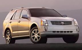 lexus truck 2004 2004 cadillac srx first drive review reviews car and driver