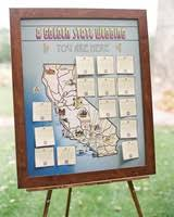 wedding table assignment board insanely creative escort cards and seating displays martha stewart