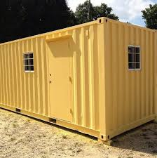 Office Storage Containers - 20 foot portable office container carolina containers