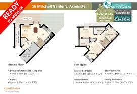16 mitchell gardens new 3 bedroom home axminster homes