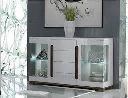 table with glass doors lorenz high gloss white wide sideboard glass door with led lights