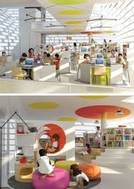 library design children u0027s library ying yang public library by