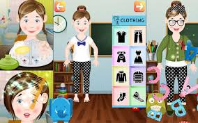 kids dress up u0026 makeover game android apps on google play