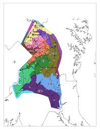 Map Of Md Maryland 2010 Redistricting Maryland Legislative Districts
