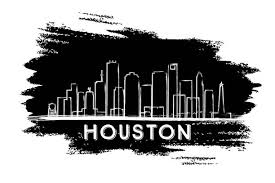New York City Skyline Wallpaper Black And White Image Gallery Hcpr houston skyline drawing collection 80