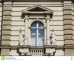 neoclassical style window stock photo image 74267317