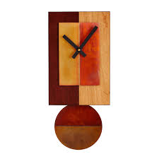now is the time clock wood clock inspirational quote maple