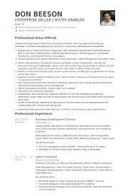 Sle Resume Business Development Director business development resume exles exles of resumes