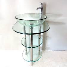 Bathroom Vanities Usa by Shop Kokols Usa Clear Single Vessel Sink Bathroom Vanity With
