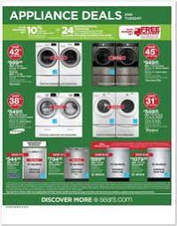 sears appliance black friday sears black friday 2016 ad scan