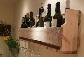 simple reclaimed pallet wine rack u2022 recyclart