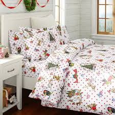 Pb Teen Duvet The Grinch Flannel Duvet U0026 Sham Pbteen