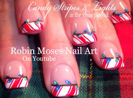 diy easy christmas nails art design tutorial youtube