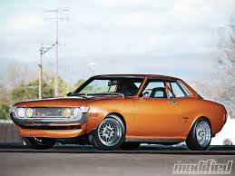 toyota celica 1973 toyota celica orange crush modified magazine ke 20 25