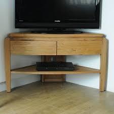 corner media units living room furniture contemporary oak media unit corner or straight by lindsay