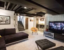 interior design captivating basement remodeling ideas with old