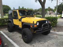 yellow jeep jeep life jeep club yellow tj 3 jeep wrangler tj 1997 2006