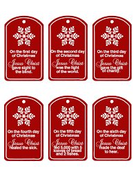 family home fun christ centered 12 days of christmas updated