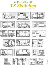 43 best sketches images on pinterest card sketches scrapbook