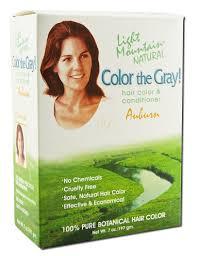 amazon com light mountain natural color the gray hair color