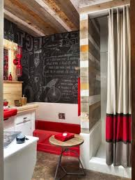 small bathroom paint ideas striking small bathroom with orange color ideas the best