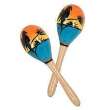 noise makers club pack of 24 tropical luau hawaiian party maraca noise