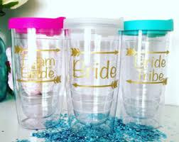 bridesmaid cups team cup etsy