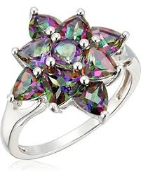 topaz rings prices images Check out these hot deals on sterling silver mystic topaz cluster