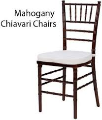 chiavari chair rentals wedding party and event rentals available orlando fl