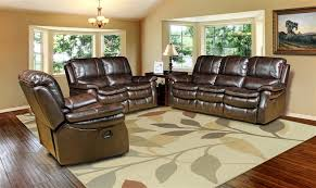 Power Reclining Sofa And Loveseat by Juno Power Reclining Sofa In Nutmeg Synthetic Leather By Parker