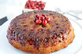 cranberry upside down cake what the fork