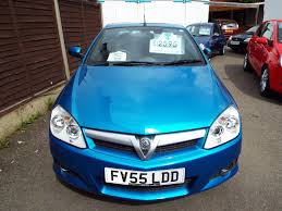 opel tigra 2005 used vauxhall tigra blue for sale motors co uk