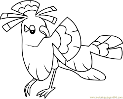 pokemon coloring pages google search oricorio sensu style pokemon sun and moon coloring page free