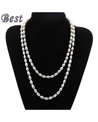best pearl necklace images 100 genuine fresh water pearl necklace jpg