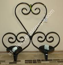 wrought iron lantern and candle holders steel expressions